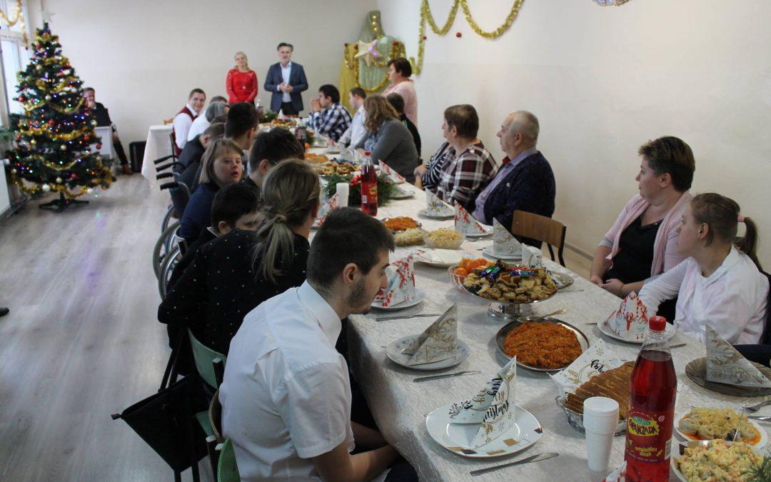 Wigilia i konkurs świąteczny klas pgd