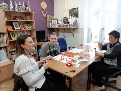 Wizyta w Warsztacie Terapii Zajęciowej