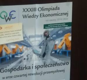 Ekonomiści na inauguracji XXIII Olimpiady Wiedzy Ekonomicznej