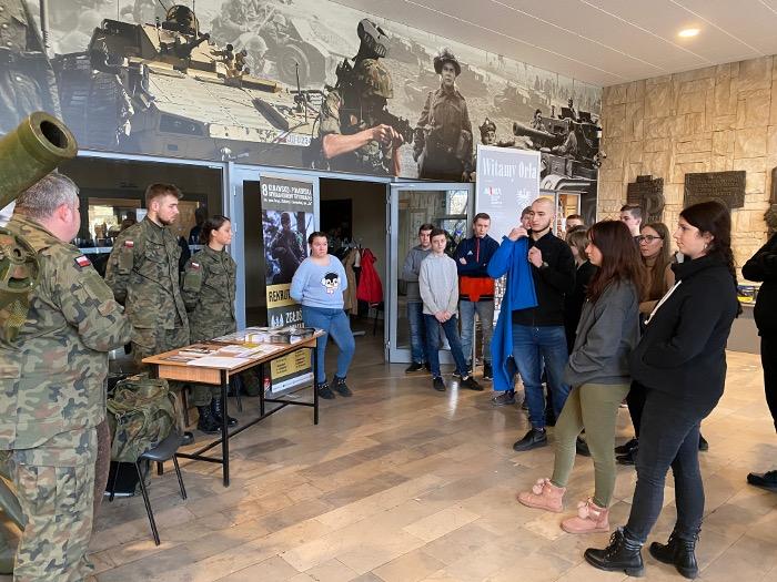 Lekcja w Muzeum Wojsk Lądowych