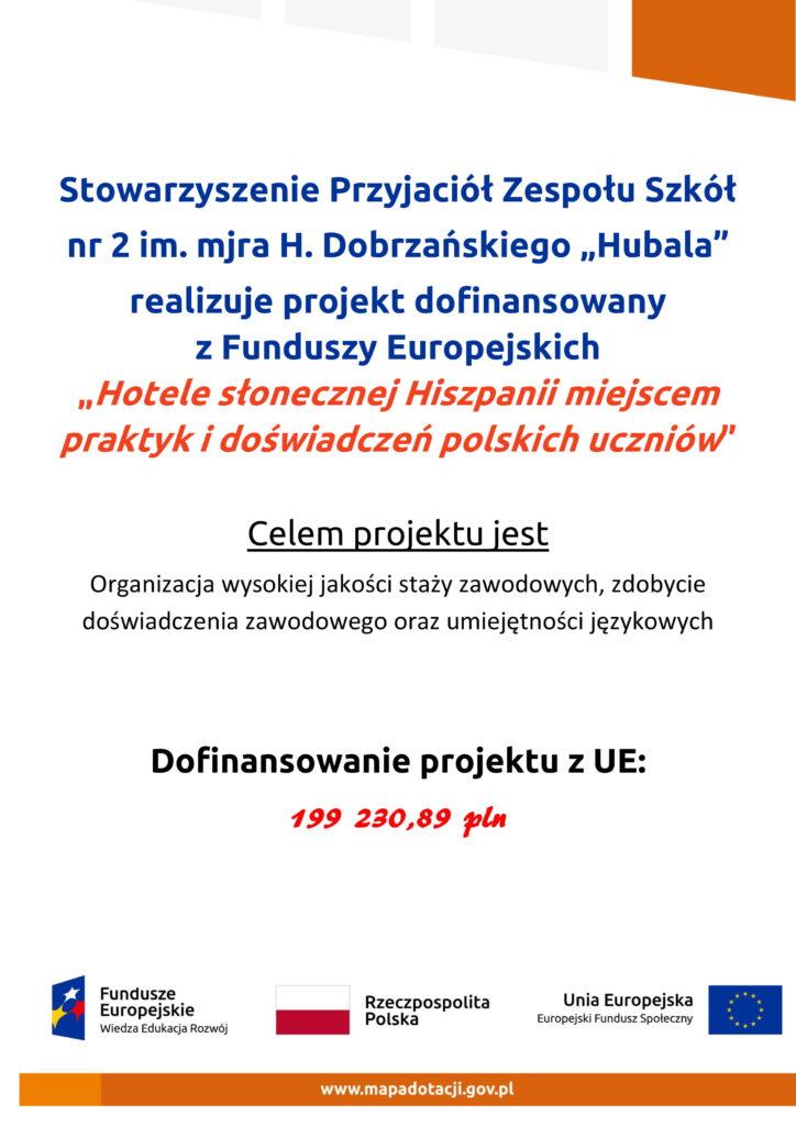Projekty współfinansowane przez UE