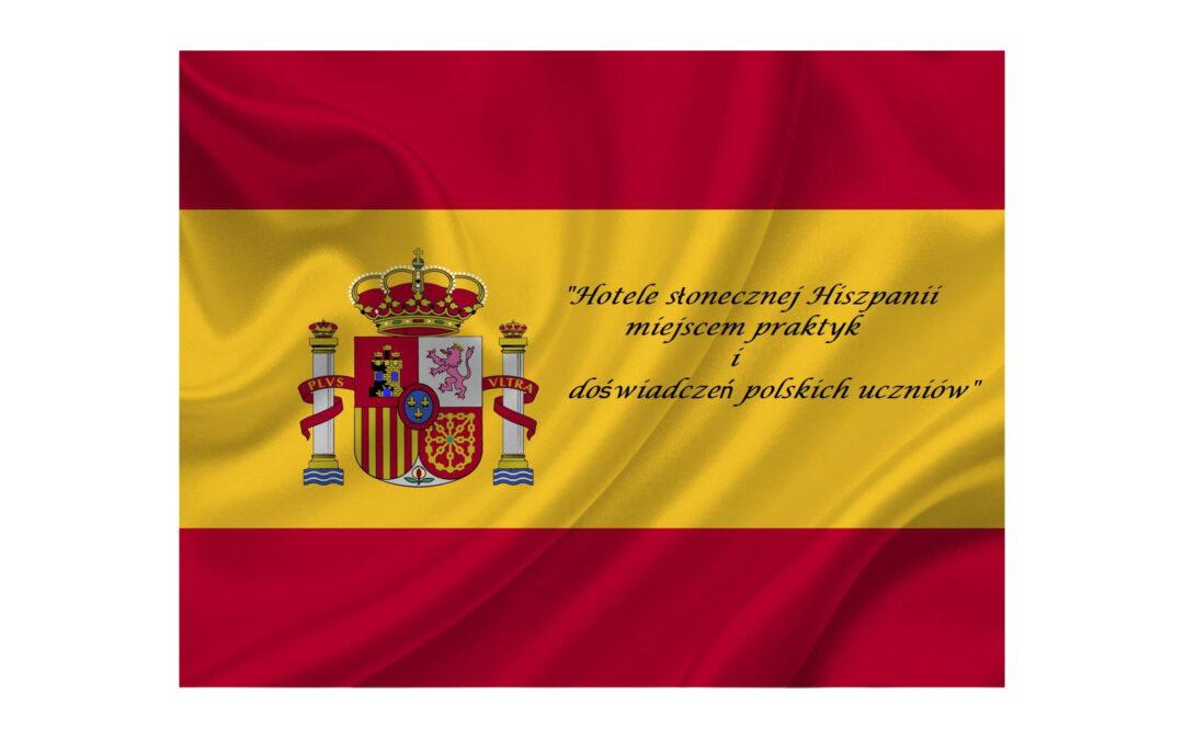 Praktyki w Hiszpanii' 2021