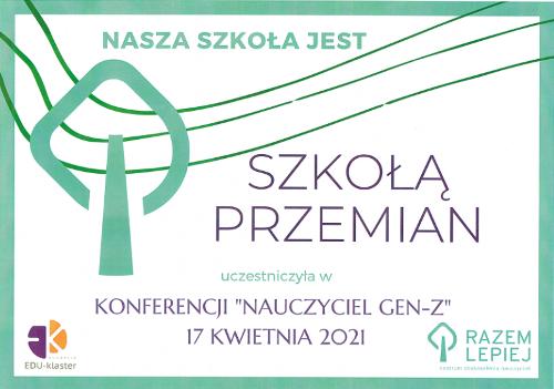 """Konferencja """"Nauczyciel Gen-Z"""""""